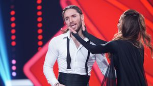 "Gil Ofarim und Ekaterina Leonova bei ""Let's Dance""-Show neun"
