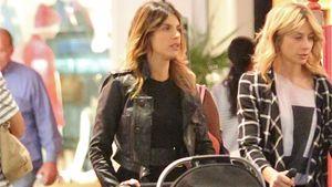 Shoppen mit Baby: Elisabetta Canalis ist eine lässige Mama