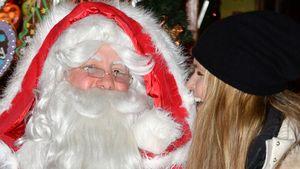 Trotz Hochzeit: Elle MacPherson flirtet mit Santa