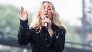 Ellie Goulding beim Glastonbury Festival im Juni 2016
