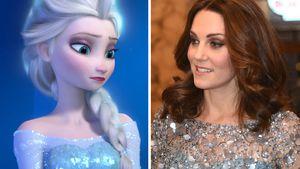 Wie die Eiskönigin: Herzogin Kate mit Schwanger-Wow-Auftritt