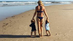 Beach-Twins: Elsa Pataky gratuliert ihren Babys