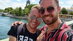 Total verliebt: Hier turtelt Emil Kusmirek mit Tobi in Paris