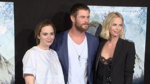 Emily Blunt, Charlize Theron und Chris Hemsworth