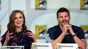 Emily Deschanel  und David Boreanaz auf der ComicCon 2014