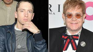 Zur Hochzeit: Eminem schenkte Elton John einen Penis-Ring!