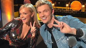 Spice Girl Emma Bunton und Backstreet Boy Nick Carter in der Jury von der US-Castingshow Boy Band