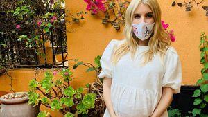 Kugelrund: Emma Roberts präsentiert ihren XXL-Babybauch