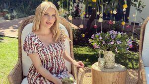 Mit kugelrundem Babybauch: Emma Roberts rockt Fotoshooting