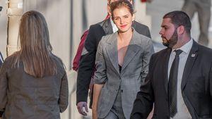 Emma Watson auf dem Weg zur Show von Jimmy Kimmel