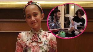 J.Los Tochter bekommt Gitarrenunterricht von Lenny Kravitz