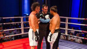 Sprücheklopfer-Duell: Severino schlägt Ennesto bei Box-Kampf
