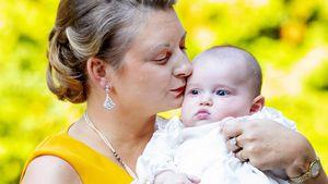 Niedliche Bilder: Prinz Charles von Luxemburg wurde getauft
