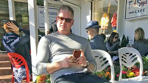Eric Dane in Los Angeles
