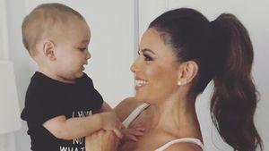 Süßes Duo-Foto: Eva Longorias Baby ist schon ein Jahr alt