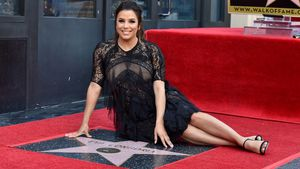 "Mit XXL-Baby-Kugel: Eva Longoria bekommt ""Walk of Fame""-Star"
