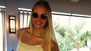 Wow! So schön ist Fabienne Rothe im Urlaub
