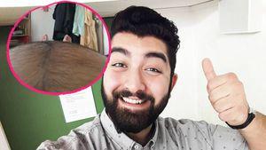 Bauchoffensive bei Faisal: Er kann seine Beine kaum sehen!