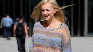 Fearne Cotton: XXL-Strickpulli trotz Model-Körper