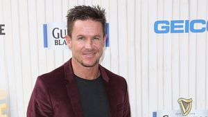 Felix Baumgartner feiert mit den Hollywood-Stars