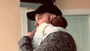 Süß! Erstes Bild von Felix van Deventer und seinem Baby Noah