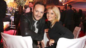 Felix Moese und Jennifer Knäble bei der Verleihung der PRG LEA Awards in der Festhalle in Frankfurt