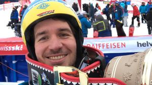 Felix Neureuther beim Weltcup-Slalom in Adelborn 2017