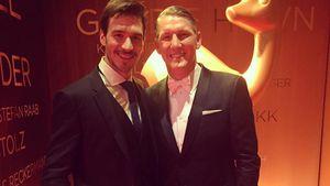 Felix Neureuther und Bastian Schweinsteiger bei der Bambi-Verleihung 2016