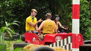Florian Wess, Kader Loth und Jens Büchner in der Dschungelprüfung 2017