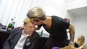 Helmut Berger & sein Botox-Boy: So verrückt war die Hochzeit