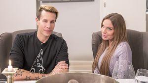 """Florian Wess und Gina-Lisa Lohfink bei """"Das perfekte Promi-Dinner"""""""