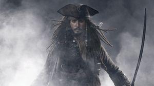 Johnny Depp und Fluch der Karibik