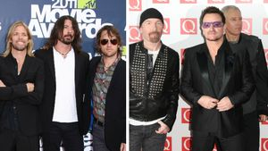 U2 und Foo Fighters