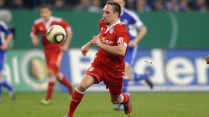 Nach Gold-Steak: So groß feierte Franck Ribéry seinen B-Day!