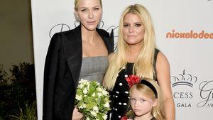Süß! Jessica Simpsons Tochter ist Blumenmädchen für Charlène