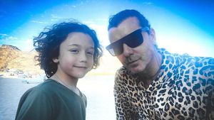 Selten: Gavin Rossdale teilt Selfie mit seinem Sohn Apollo