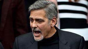 George Clooney schreit rum