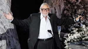George Romero bei der Verleihung des Mastermind-Awards
