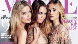 Cara Delevingne, Suki Waterhouse und Georgia May Jagger