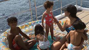 Cristiano Ronaldos Verlobte Georgina teilt süße Family-Pics!