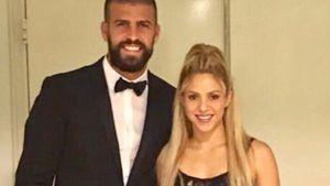 Gerard Piqué und Shakira als Gäste bei Lionel Messis Hochzeit