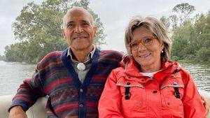 International-Bauer Gerhard hat erstmals Besuch von Birgit