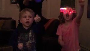 Wow! Neil Patrick Harris' Zwillinge feiern wie die Großen