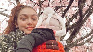 Erster Geburtstag als Mama: Gigi Hadid mit Liebe überhäuft