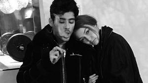 Gigi kuschelt sich an ihren Zayn