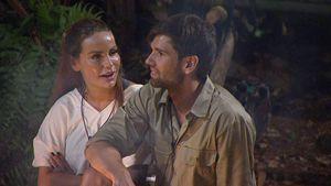Gina-Lisa Lohfink und Alexander Keen im Dschungelcamp 2017