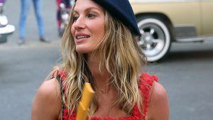 Gisele Bündchen bei der Ankunft zur ersten Chanel Modenschau auf Kuba