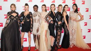 "GNTM-Girls bei der ""This is Us""-Premiere in Berlin"