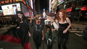 Alisar und Sara auf Heidi Klums Halloween-Party!