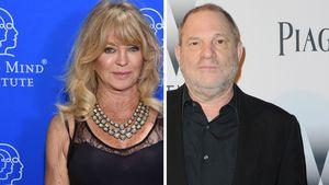 So legte sich Goldie Hawn damals mit Harvey Weinstein an!